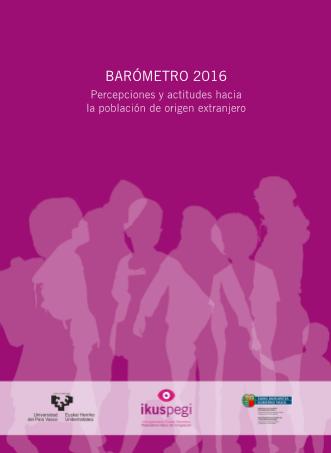 BARÓMETRO 2016 - Percepciones y actitudes hacia la población de origen extranjero